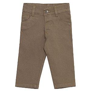 Calça Look Jeans Sarja