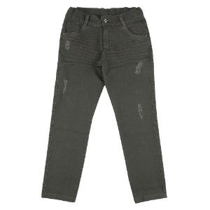 Calça Look Jeans Sarja Verde Musgo