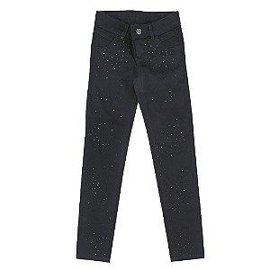 Calça Look Jeans Skinny Preta