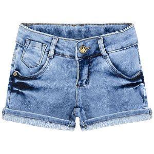 Short Look Jeans Moletom Jeans