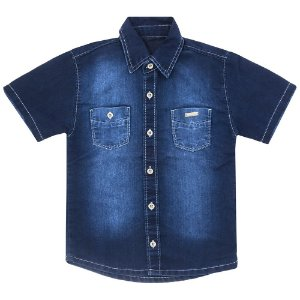 Camisa Look Jeans Clássica Jeans