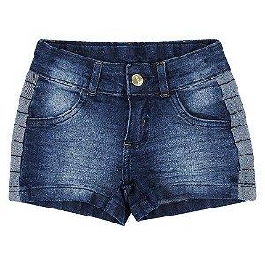 Shorts PopStar Detalhe Azul