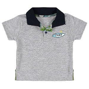 Camiseta Look Jeans Polo Mescla