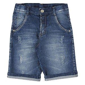 Bermuda Look Jeans Slim Jeans