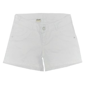 Shorts Look Jeans Sarja Branco