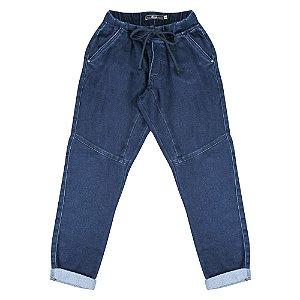 Calça Look Jeans Jogger Jeans