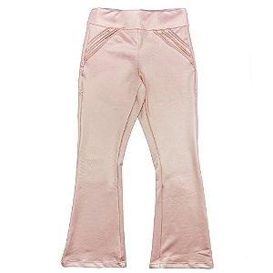 Calça Look Jeans Flare