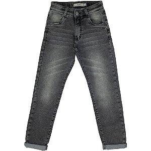 Calça Look Jeans Moletom Black