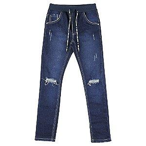 Calça Look Jeans Legging Jeans