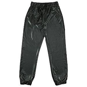 Calça Look Jeans Jogger Preta