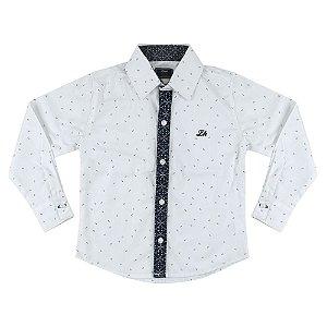 Camisa Look Jeans Clássica Branca