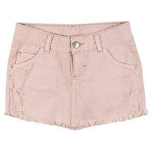 Shorts Look Jeans Saia Collor