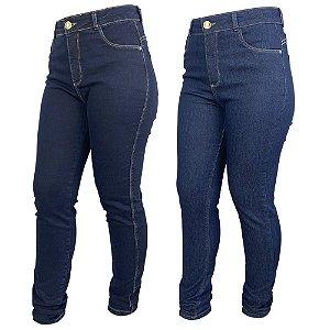 Kit Look Jeans c/ 2 Calça Jeans Skinny Feminina