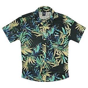 Camisa Look Jeans Folhagem