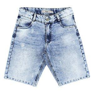 Bermuda Look Jeans Destroyed Jeans