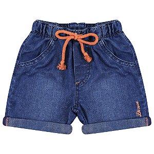 Shorts Look Jeans c/ Elástico Jeans