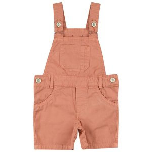 Jardineira Look Jeans Curta Sarja