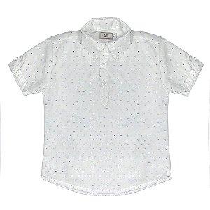 Camisa Look Jeans Bata Branca