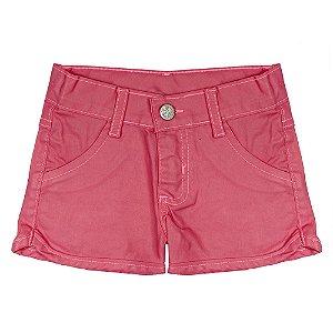 Shorts Look Jeans Básico Pink