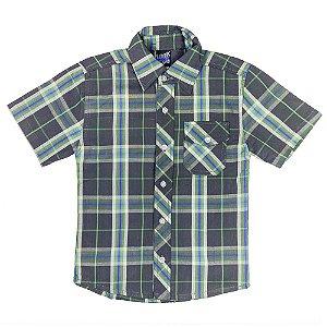 Camisa Look Jeans Xadrez Verde