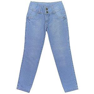 Calça Juvenil Look Jeans Skinny Jeans