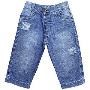 Calça Bebê Popstar Reta Jeans