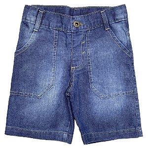 Shorts Bebê Popstar Basic Jeans
