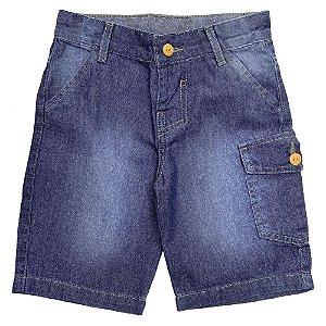 Shorts Infantil Popstar Basic Jeans