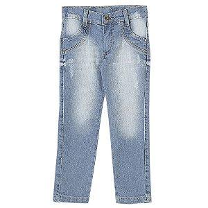 Calça Infantil Look Jeans Skinny Jeans