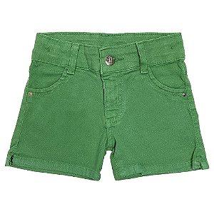 Shorts Infantil Look Jeans Sarja Collor