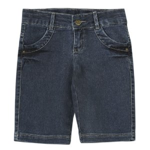 Bermuda Juvenil Look Jeans Ciclista Jeans