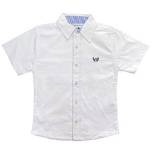 Camisa Juvenil Look Jeans Branca