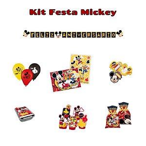 Kit Decoração de festa Mickey