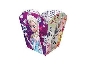 Cachepot de papel com o tema Frozen 8 unidades