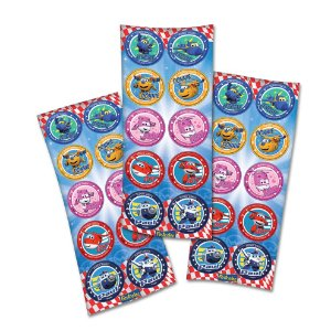 Adesivo Festcolor Redondo Super Wings 30 unidades