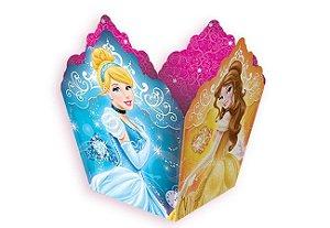 Cachepot de Papel Princesas Debut 8 unidades