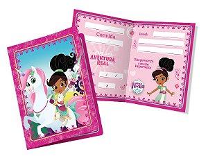 Convite Princesa Nella