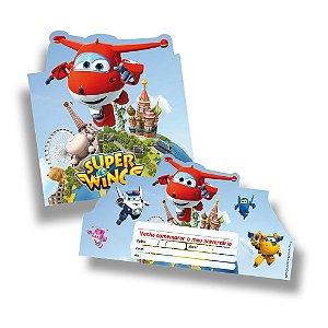 Convite Festcolr Super Wings