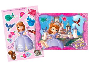 Kit Decorativo Regina Princesa Sofia