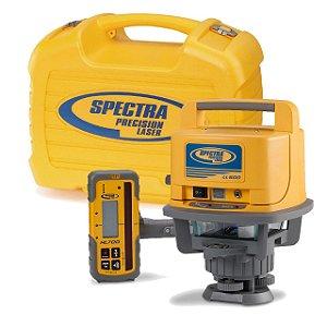 Nível Laser Rotativo Spectra Precision LL500 com Receptor
