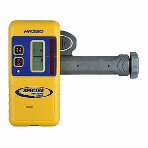 Receptor Spectra Precision HR320 para Laser Rotativo com Suporte