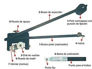 Planímetro Mecânico Orient Q811 - C/ Nfe