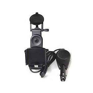 Suporte Garmin P/ Carro Ique Ventosa + Microfone + Isqueiro
