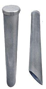 Marco De Aço Galvanizado C/ Placa Tip Tampa De Marretar 60cm