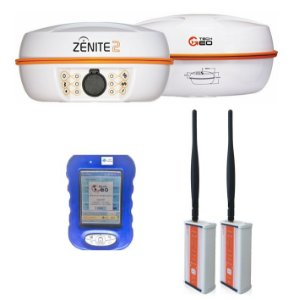Par de GNSS RTK Techgeo Zenite 2 - SEMINOVO