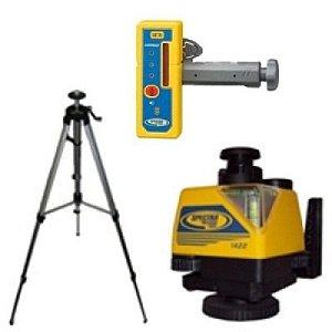 Nível Laser Rotativo Spectra Precision 1422+Receptor +Tripé