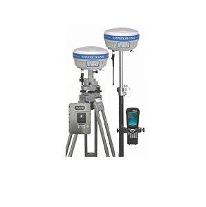 Par de GNSS Stonex S9  c/ controladora e rádio - SEMINOVO