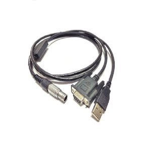 Cabo de dados Hi-Target USB/RS232 p/ V8/V9/HD8200 - Seminovo