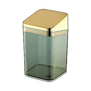Porta Algodão Cotonete Multiuso Acrílico Premium Transparente UZ