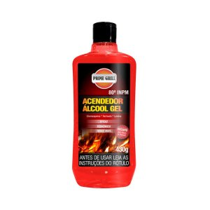 Acendedor De Churrasqueira Álcool Gel Eficaz 430g - Prime Grill
